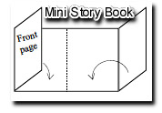 Mini Bible story book
