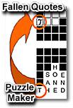 Fallen Quotes Puzzle Maker